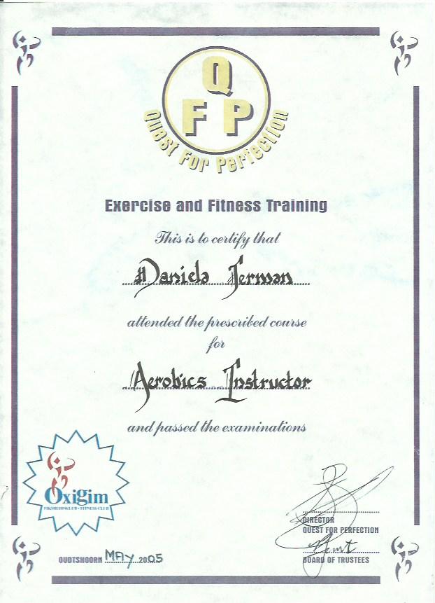 Daniela Certificates 4